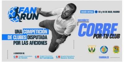 Llega la primera carrera Fan Run en colaboración entre el Fuenla, Lega y Geta
