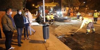 Finalizadas las obras de las calles Luis Sauquillo y la Vía