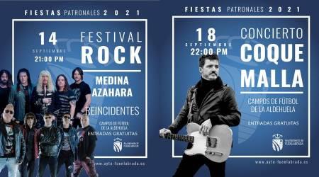 Las Fiestas de Fuenlabrada contarán con ocho conciertos gratuitos