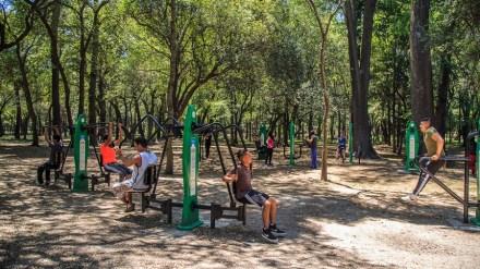 Dos nuevas zonas de entrenamiento se ubicarán en los parques de la Solidaridad y Loranca