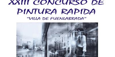 Los lienzos volverán a las calles con el XXIII Concurso de Pintura Rápida Villa de Fuenlabrada