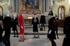 Mostra Alta Moda Michele Miglionico dal titolo Madonne Lucane. Vestiti che profumano d'Incenso.1 ph. Emanuele Taccardi