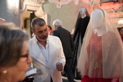 Mostra Alta Moda Michele Miglionico dal titolo Madonne Lucane. Vestiti che profumano d'Incenso.15 ph. Emanuele Taccardi
