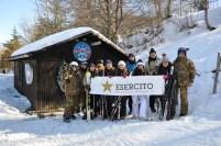 Foto di grupScuola Italiana Sci Sellata - Ariosopo al rifugio Neviera