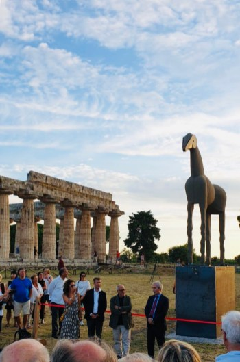 Inaugurazione Cavallo di sabbia