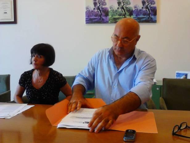 I funzionari Rosanna Romano e Michele Faiella.jpg