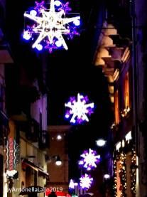 Immagine tratta da repertorio di Onda Lucana®by Antonella Lallo 2019 Potenza e le sue luci natalizie