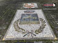 Immagine tratta da repertorio di Onda Lucana®by Miky Da Lioni 2019 mosaico simbolo comunale