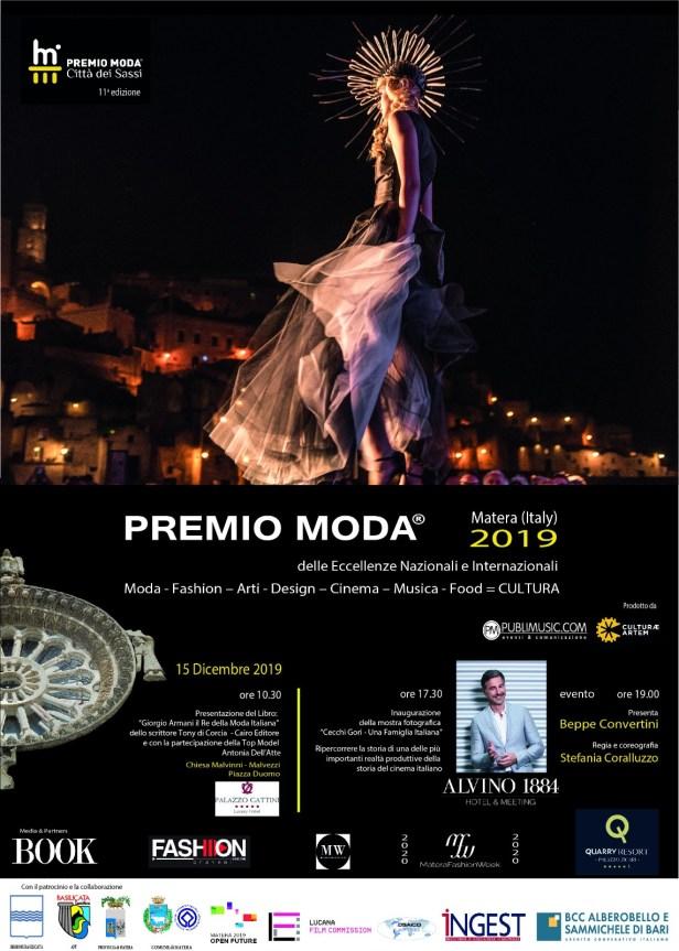 Locandina Premio Moda 2019