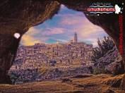 Panorama dalle Grotte Rupestri