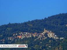 Vista di Roccanova da Sant'Arcangelo