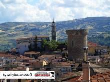 Panorama sullo sfondo la Torre Medievale e il Campanile