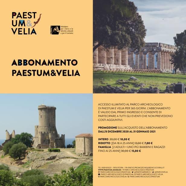 Abbonamento Paestum&Velia_Promo Natale