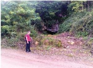 Restos de la cueva Zelaieta 1