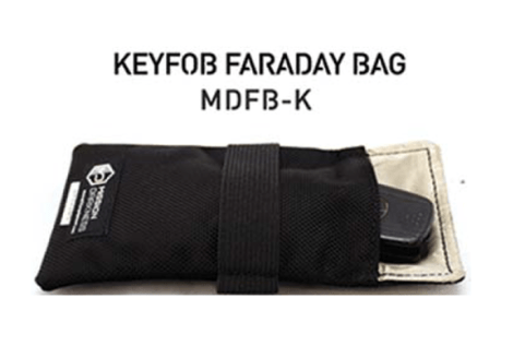 Keyfob Faraday bag