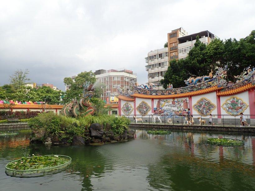 parc près du templs confucius taipei taiwan