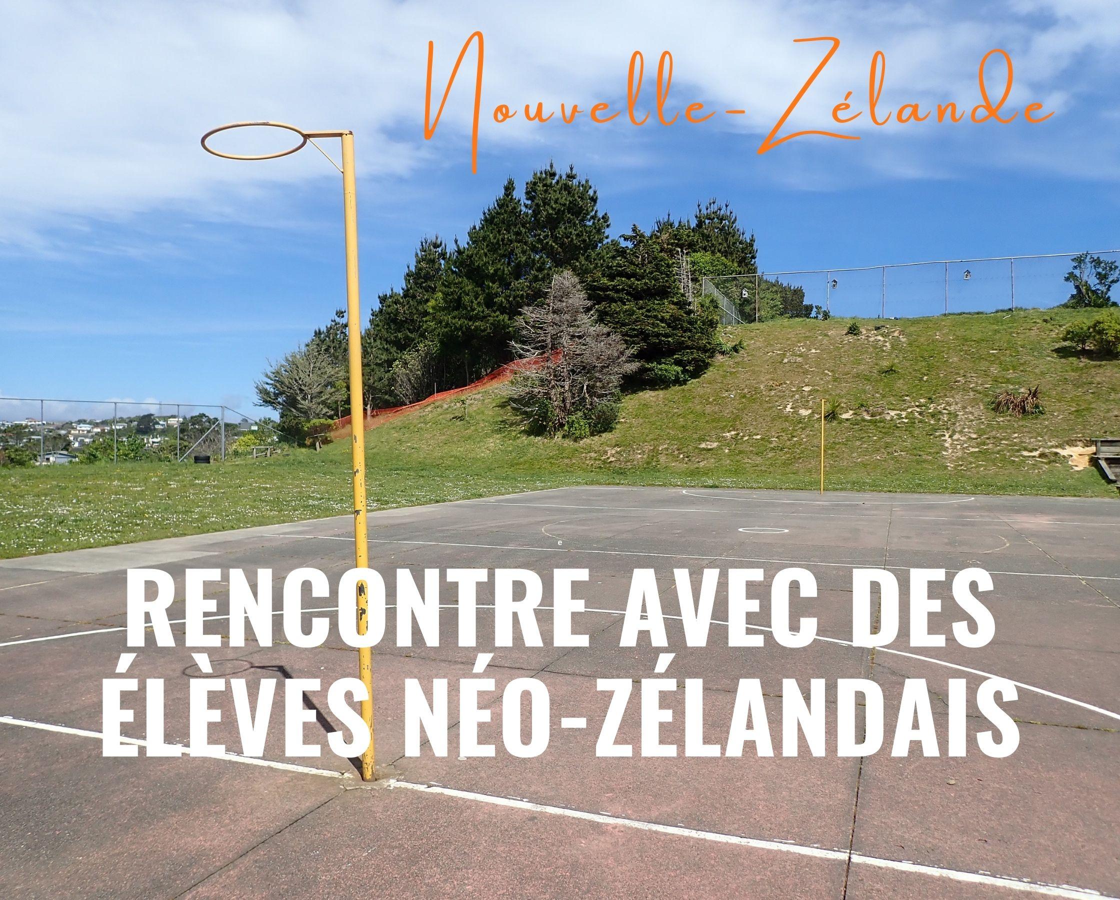 Rencontre avec des élèves néo-zélandais