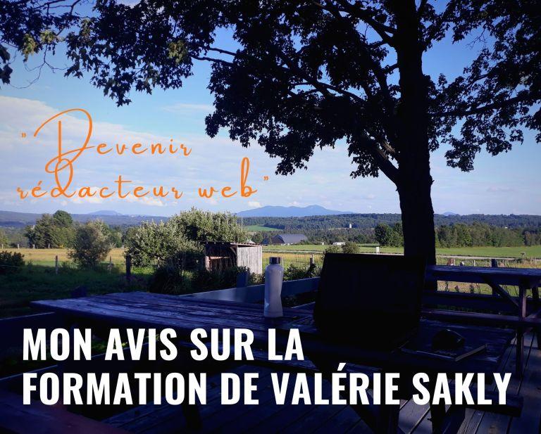 «Devenir rédacteur web» : mon avis sur la formation de Valérie Sakly
