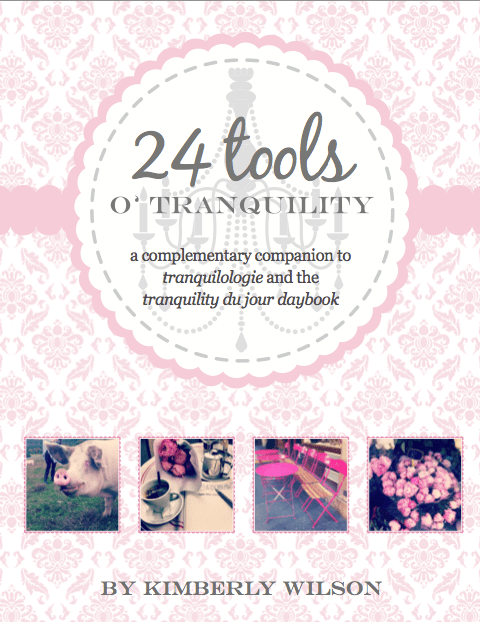 24 tools o tranquility