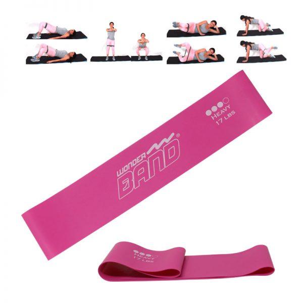 banda elastica rosada