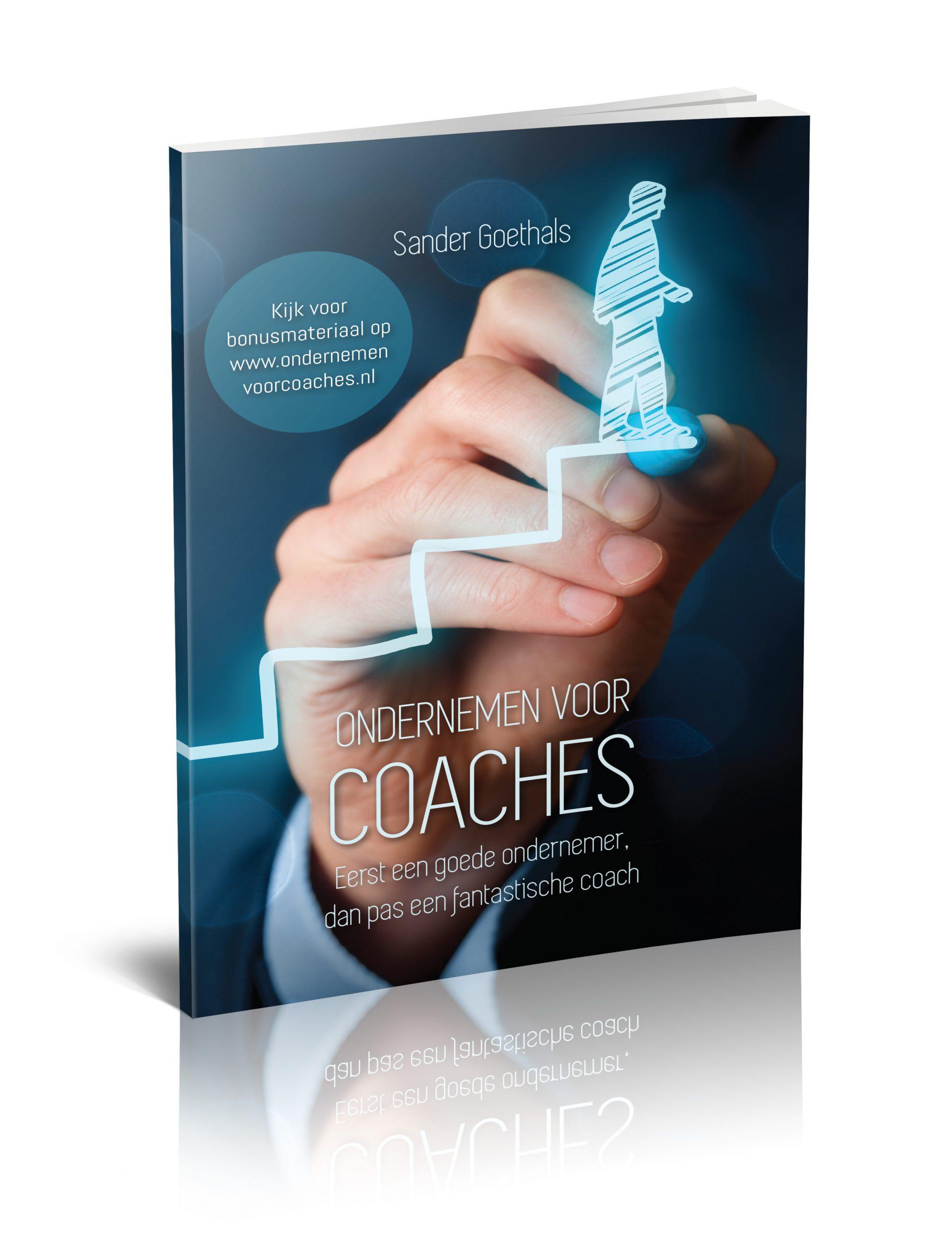 3D boek Ondernemen voor Coaches