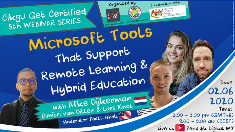 Webinar: Microsoft Tools (that support remote learning & hybrid education)