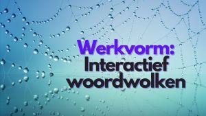 Interactief woordwolken