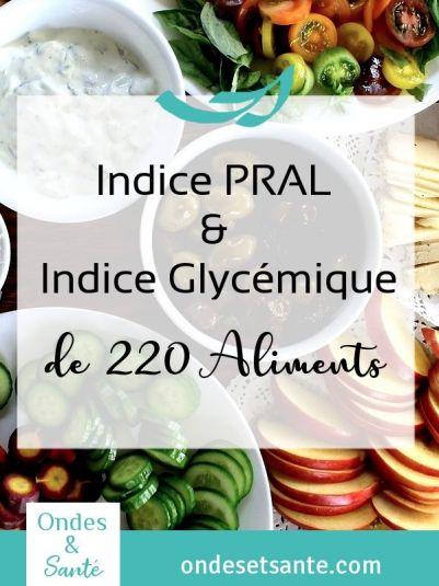 Qu'est ce que l'indice glycémique ? Qu'est ce que l'indice PRAL ? Comment les utiliser pour élaborer des repas sains et vivants ? Découvrez la réponse à ces questions en lisant l'article !