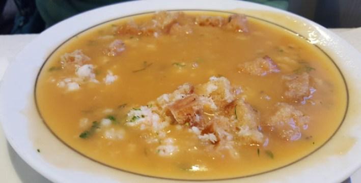 estrela do mar marisqueira ribamar ericeira sopa rica do mar