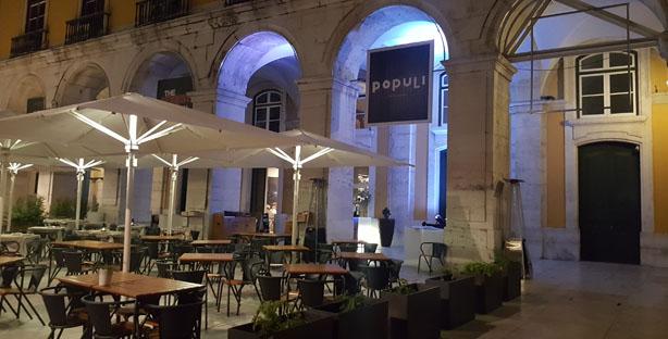 populi restaurante sofisticado comida portuguesa terreiro do paço lisboa