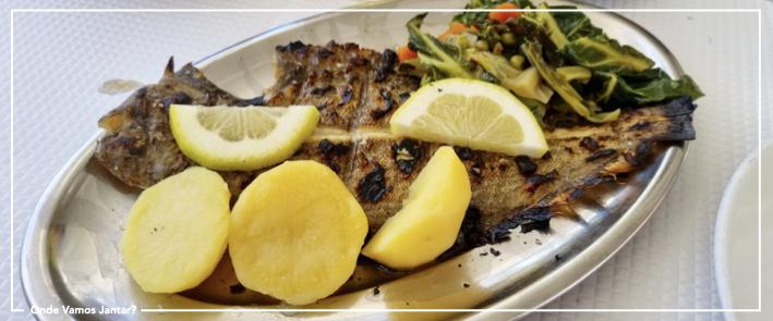 restaurante oceanário peixe grelhado