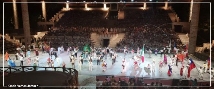 xcaret espectáculo roteiro méxico riviera maya