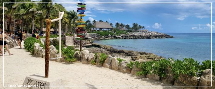 xcaret roteiro méxico riviera maya