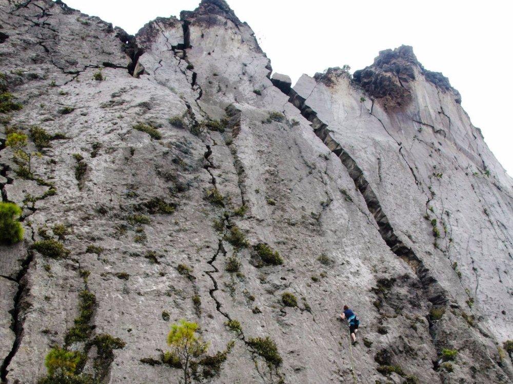 Rock Climbing in Guatemala