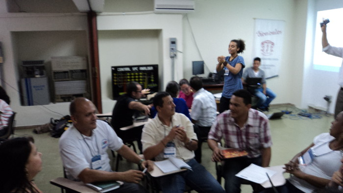 Academia DHIS trabajo en grupos