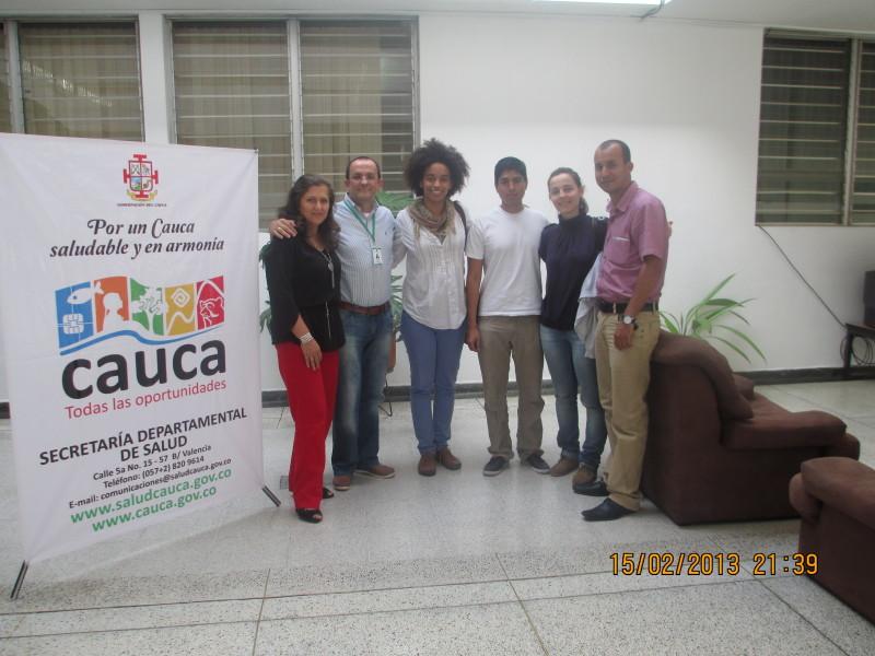 Academia DHIS y Secretaria del Cauca