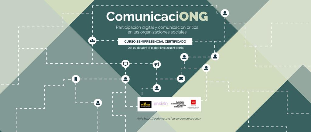 cartel curso comunicaciong: comunicación digital crítica