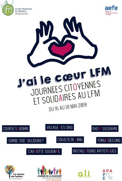 jornadas ciudadanas solidarias en Liceo Frances Madrid 2018