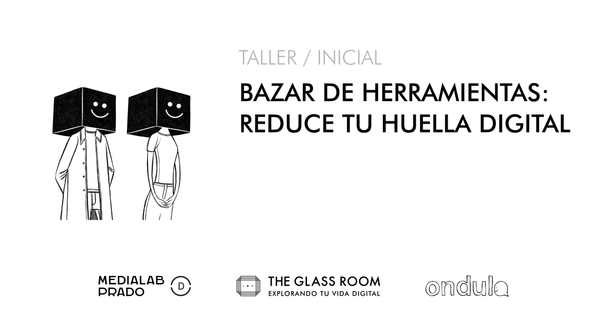 Bazar huella digital Glass Room