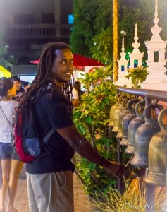 Sunday Night Street Market Chiang Mai -August 2013 My 1st Time-