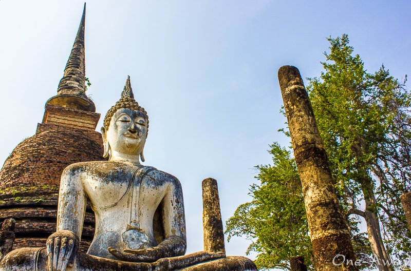 The Dawn of Happiness - Sukhothai Historical Park