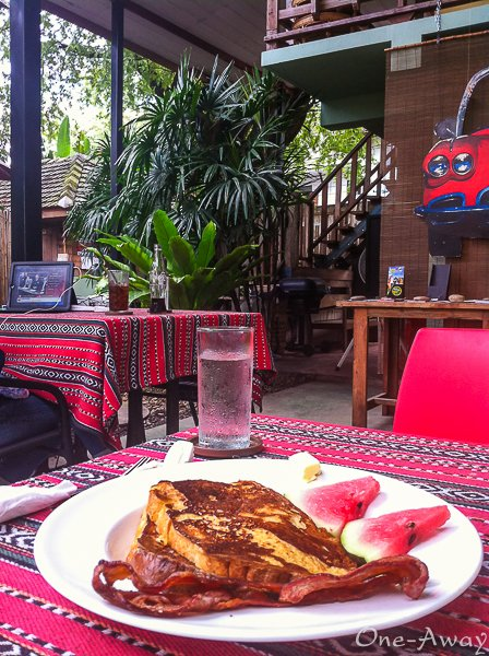 Chiang Mai Coffee Shops - Good Morning Chiang Mai Backyard