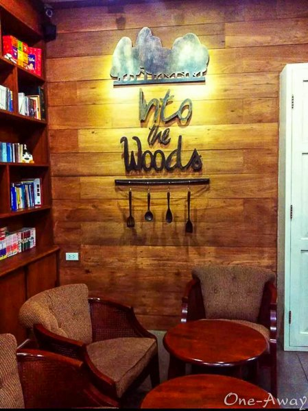 Chiang Mai Coffee Shops - into The Woods