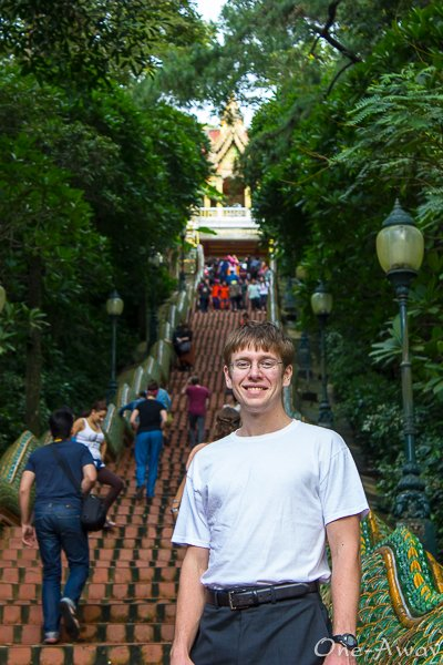 Stairway to Wat Phra That - Doi Suthep Chiang Mai