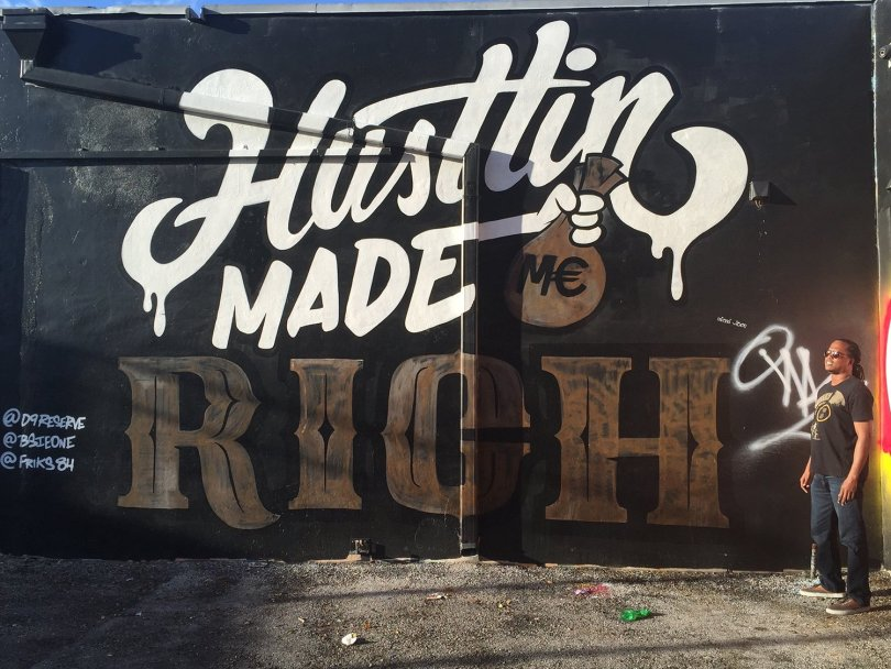 Travel blogging and hustling made me rich - Wynwood Walls, Wynwood, 26th st. Miami Art District, Miami