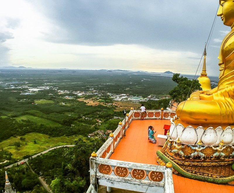 Things To Do In Krabi Thailand:  Tiger Cave Temple