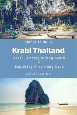 Things to do in Krabi Thailand - Rock Climbing - Phra Nang Beach