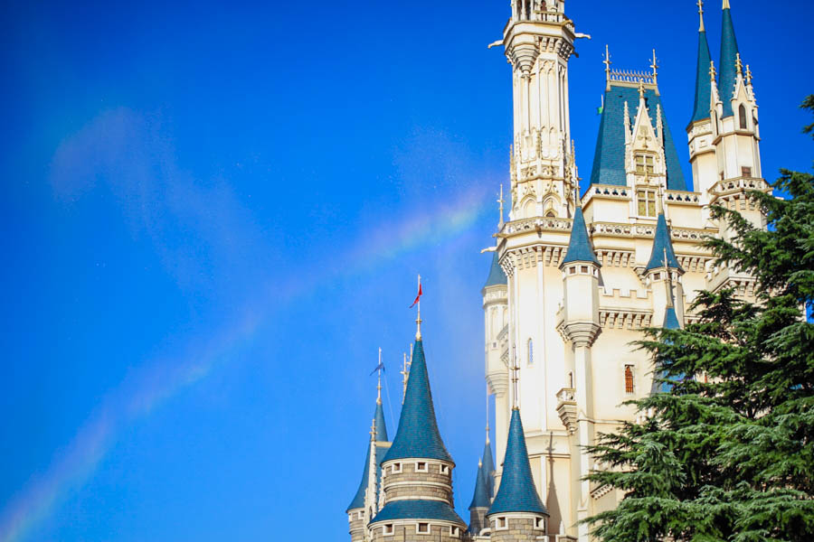 DisneyPhotoBlog DisneyLand Cinderella Castle