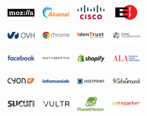 Dozens of major companies are already backing Lets Encrypt, including Automattic (known for WooCommerce, Jetpack, Akismet and WordPress.com)
