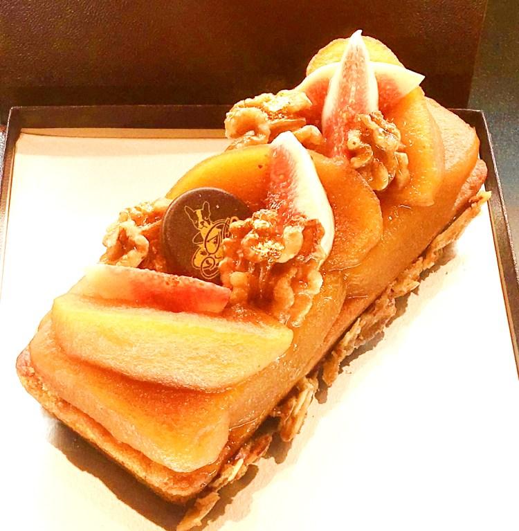 焦がし蜂蜜を使ったパウンドケーキ 銀座シックス 限定販売 パティスリーパブロフ